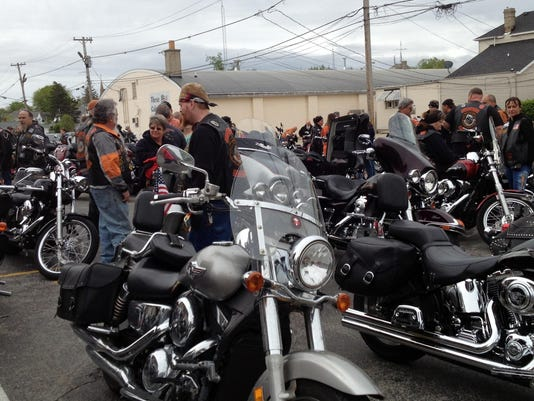 Whitewater Valley Motorcycle Club benefit ride