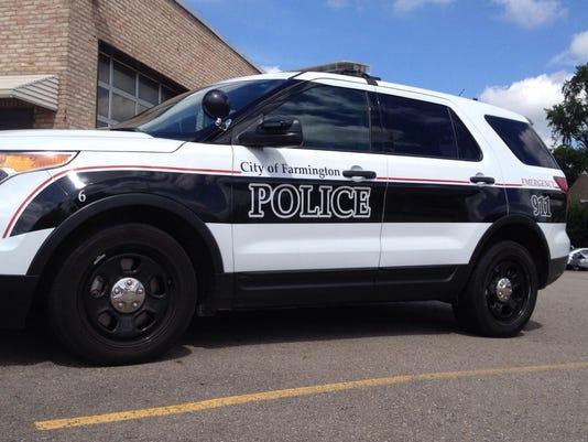 frm farmington police car