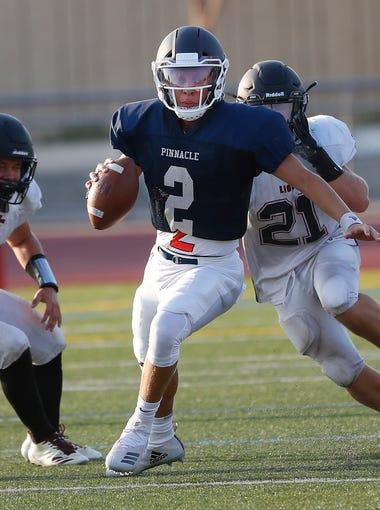 Quarterback - Spencer Rattler, Phoenix Pinnacle, 6-2, 180, Sr.