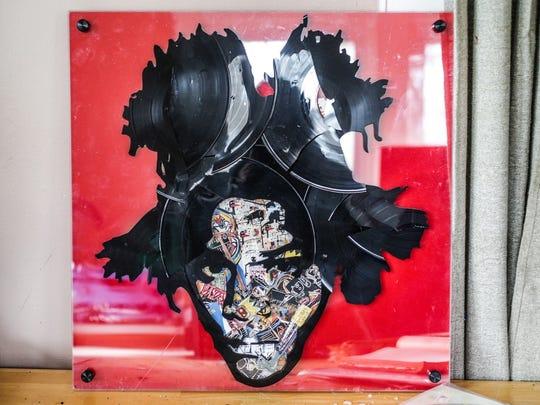 Artist Jean-Michel Basquiat inspired this Lobyn Hamilton