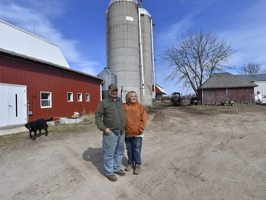 Dale and Karen Cihlar farm 110 acres on their southern