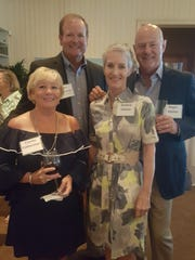 Connie Cothermann, Ross Cothermann, Kendra Haines and