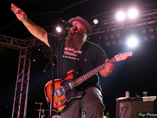 """Harlis Sweetwater and his band are touring the western United States in support of his new album """"Stomp, Holler & Shout."""""""