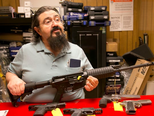 Gun shop owners in Ocean and Toms River talk about