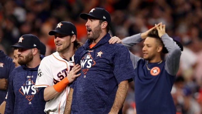 Justin Verlander will start Game 6 of the 2017 World Series for the Houston Astros on Tuesday.