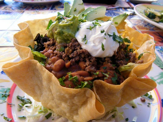 The Taco Salad at Calico Jack's Cantina in Glendale.
