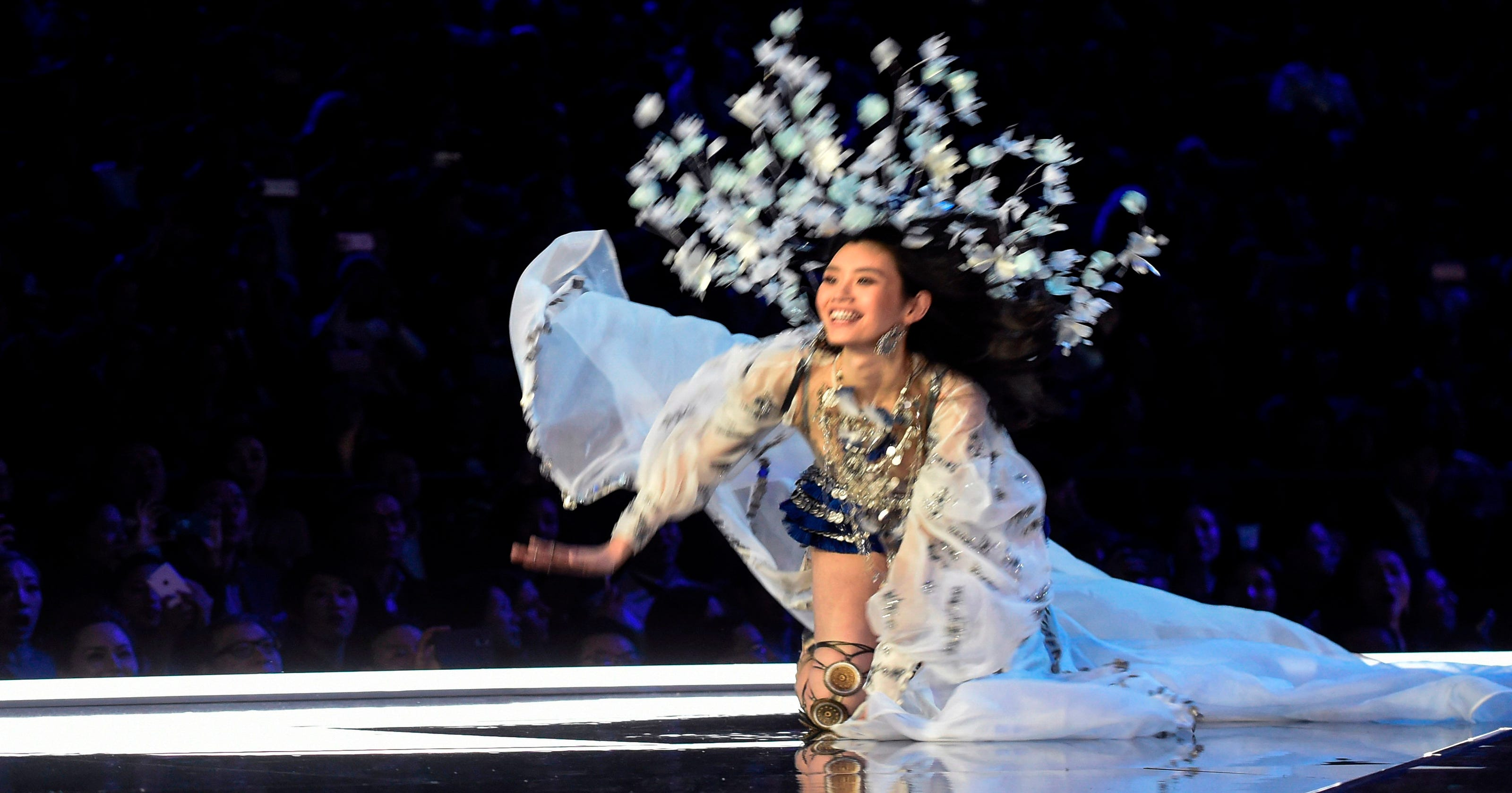 75a9a54bc94 Victoria s Secret runway trip  How a fallen Angel became the highlight of  the show