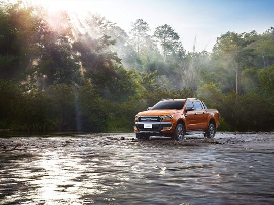 At Go Further South Africa 2015, Ford unveiled the new Ranger.
