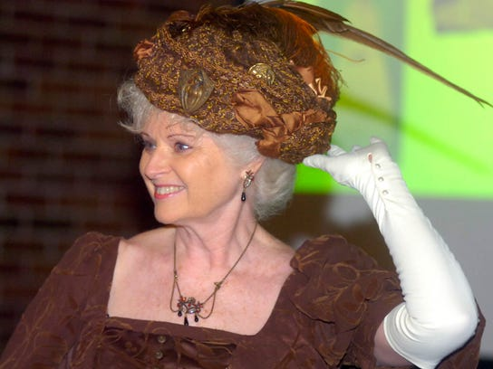 """Connie Sonnenberg worked the crowd at the """"Fashions"""