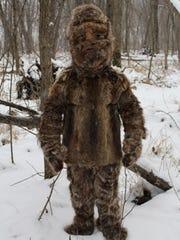 Gawain MacGregor in the fur suit he believes McDowell