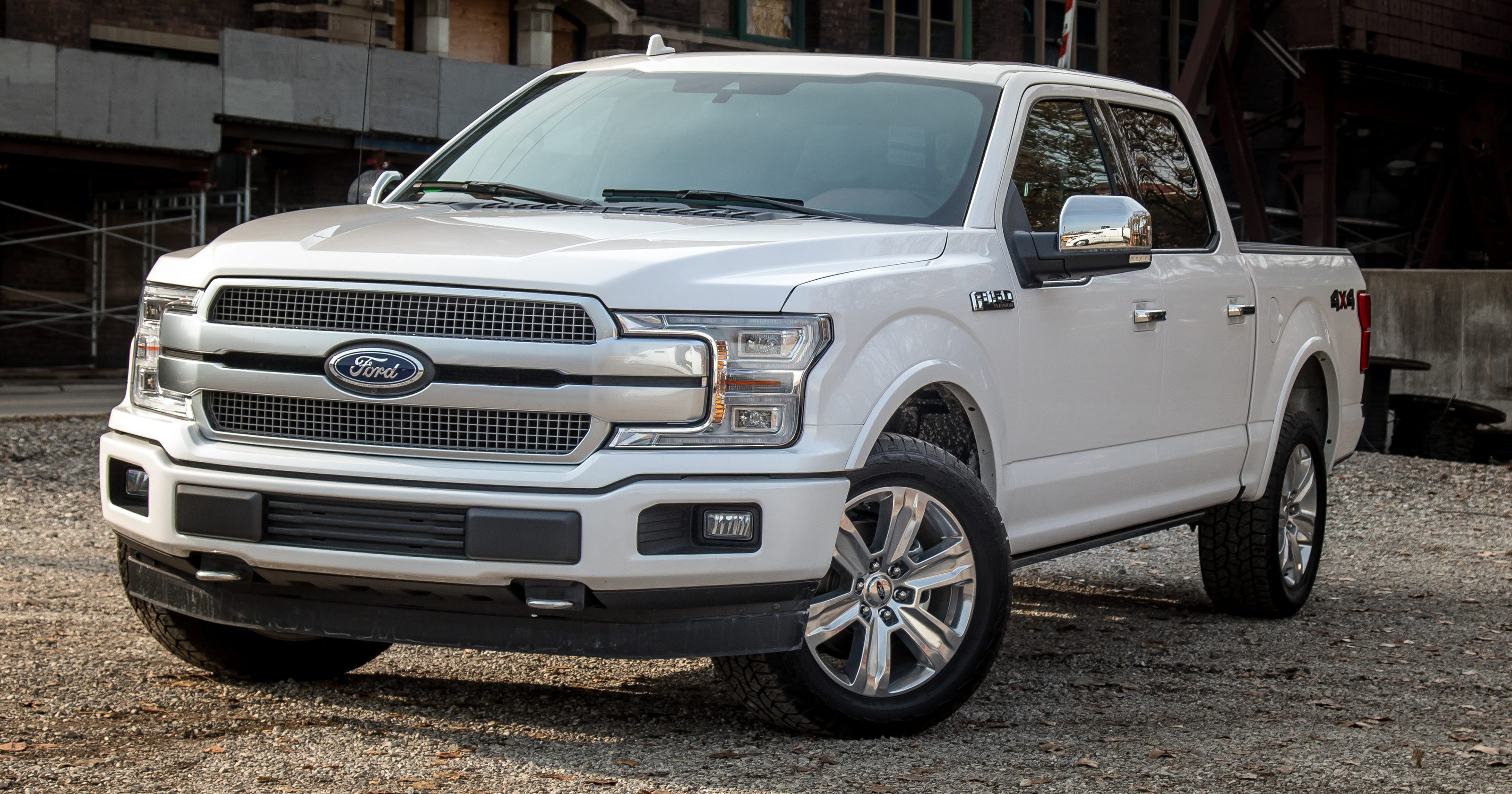 Review fords plush f 150 platinum gets a v 8 update