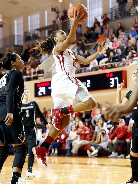 Alabama Vandy Women's Hoops