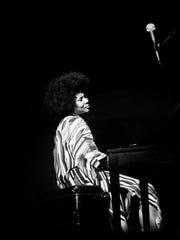 Alice Coltrane, shot by Leni Sinclair.