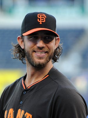 Giants starting pitcher Madison Bumgarner has been the star of the postseason, going 4-1 with a 1.13 ERA in six starts and holding the Royals to one run in 16 innings while winning two starts in the World Series