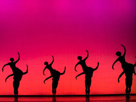 """Opus Cactus"" from MOMIX brings images of the American Southwest to the stage."