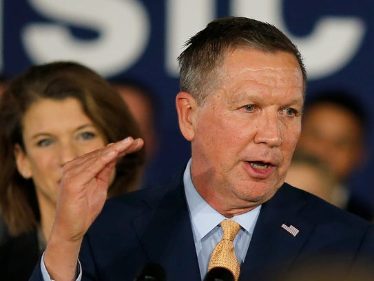 John Kasich talks about the importance of running a