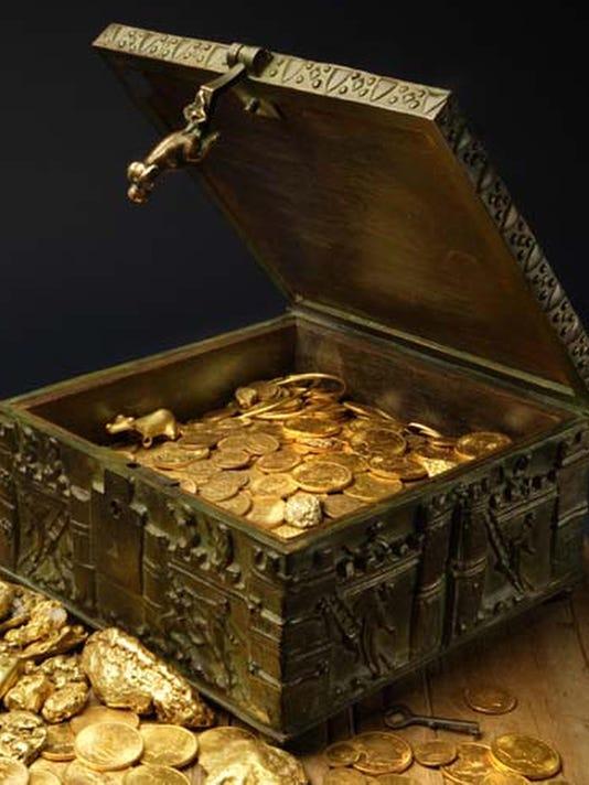 missing treasure