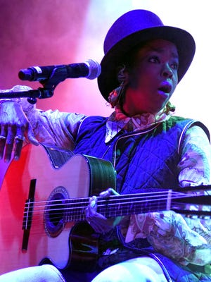 . Lauryn Hill performs during Fun Fun Fun Fest 2015 at Auditorium Shores on November 8, 2015 in Austin, Texas.