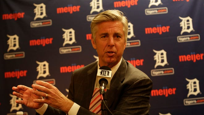 Detroit Tigers general manager Dave Dombrowski on Oct. 14, 2014.