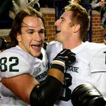 Photos: Spartans pull off stunning 27-23 win over Michigan