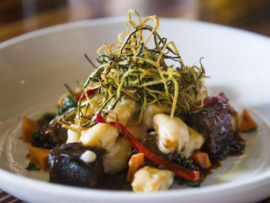 Gnocchi & short ribs are among favorites served at