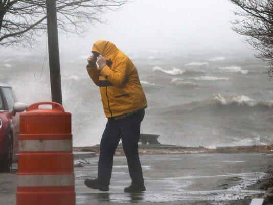 Coastal Storm Weather Image
