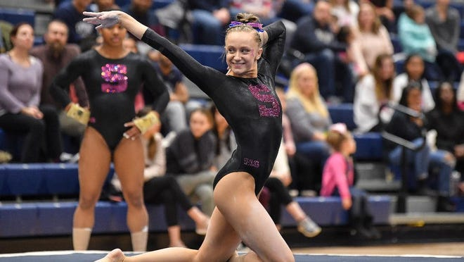 Worcester Tech graduate Cassidy Rushlow earned All Big-Ten second team honors as a freshman on the Penn State gymnastics team.