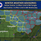 A winter weather advisory was in effect for Montgomery County until 6 p.m. Tuesday.