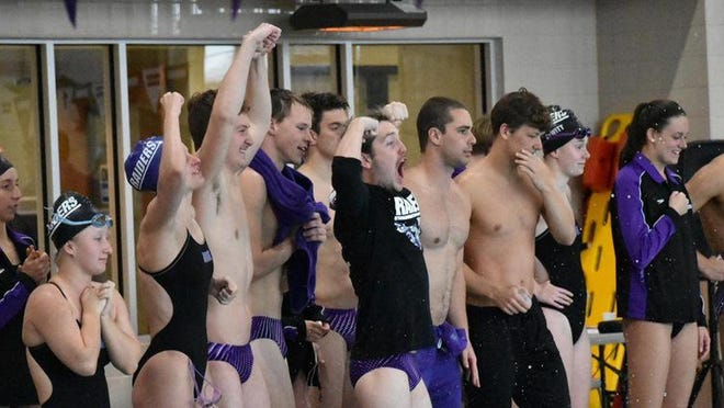 The Mount Union men's and women's swimming teams finished second at this year's Ohio Athletic Conference Championships.