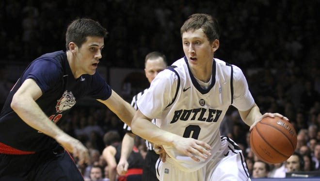 Former Butler player Andrew Smeathers will be eligible to play for Mount St. Mary's beginning next season.