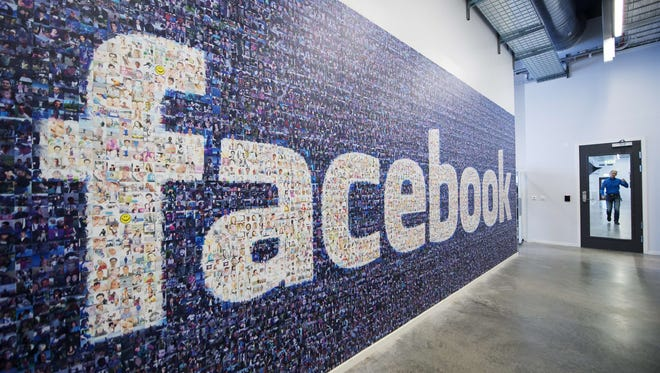Facebook's Internet ad revenue is on the rise.