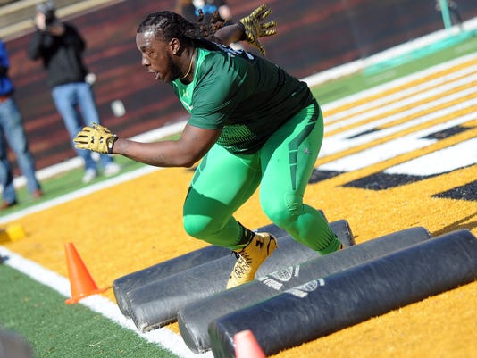 Pro Day At University of Southern Mississippi For Football Players | Gallery