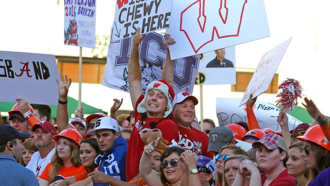 UW fans will make their presence known during Saturday's ESPN College GameDay show in Madison.
