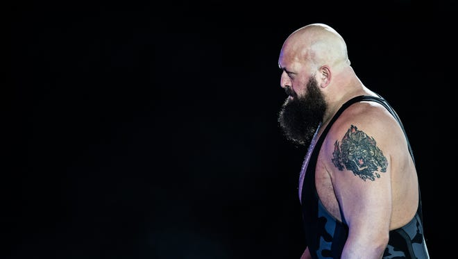 Big Show arrives during to the WWE Live Duesseldorf event at ISS Dome on February 22, 2017 in Duesseldorf, Germany.