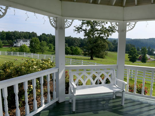 The Farmhouse at Whitestone Country Inn seen from inside