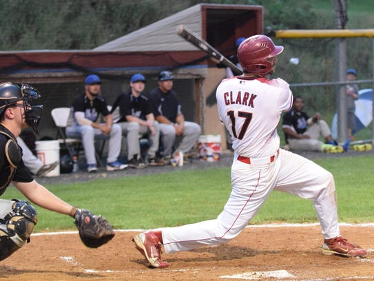 Stuarts Draft Diamondbacks' Brandon Clark follows through