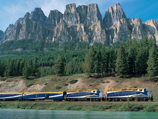 This train ride soars to new heights