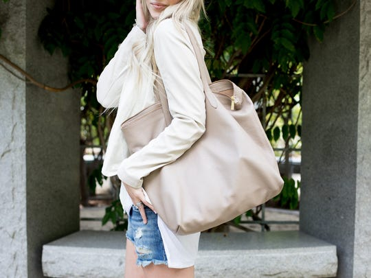 My favorite everyday purse is my Cuyana tote.