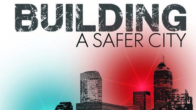 Building a safer city logo