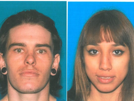 Cathedral Devin Dean Robertson-Goering and Jennifer Alexandra Santos are accused of allowing their home to be used for manufacturing honey oil. The home was damaged in a fire blamed on a honey oil lab.