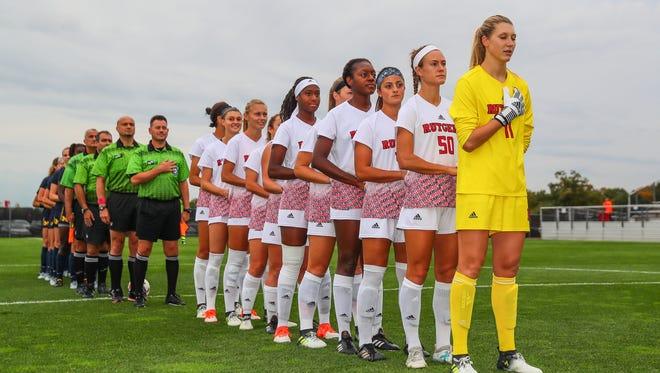 "The Rutgers University women's soccer team is hosting a ""Fearless Girl"" fundraiser featuring Broadway star Mandy Gonzalez."