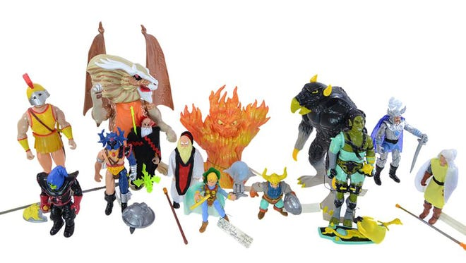 This lot of Dungeon and Dragons collectibles recently sold at auction for $110.