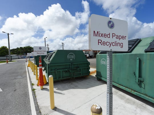 The Guam Solid Waste Authority Harmon Transfer Station at the Harmon Industrial Park on Dec. 9, 2017.