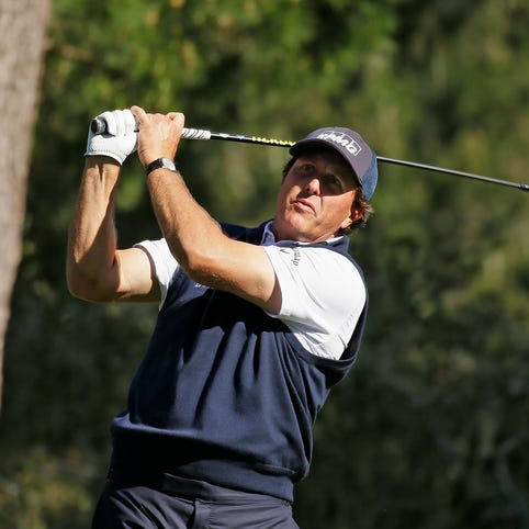 Phil Mickelson's career through the years
