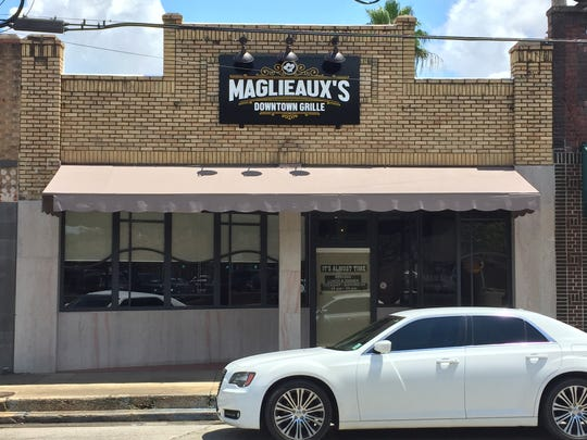 Maglieaux's Downtown Grille in Marksville.