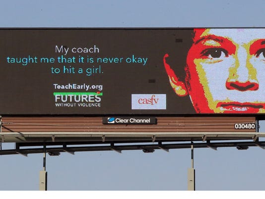 Domestic Violence Billboard