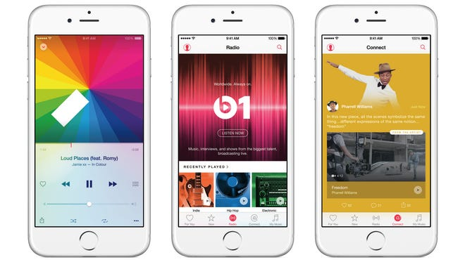 Apple Music is set to debut.