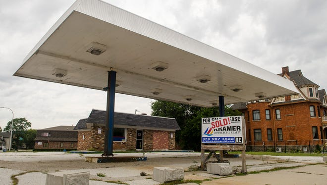 The gas station at the corner of Pine Grove and Glenwood avenues has been sold. The site will be redeveloped into office space.