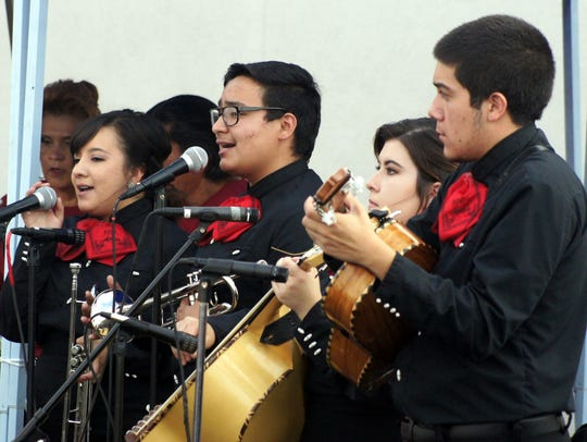 Mariachi Cien Anos has been a featured performing group since 2016.