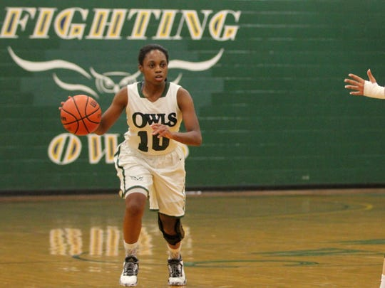 Danasia Dumas earned first team All-American honors after her freshman season with the Warren Wilson College Owls.